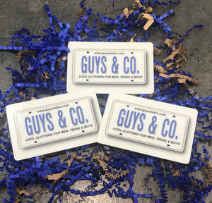 Guys & Co Gift Card $25 - Guys and Co.