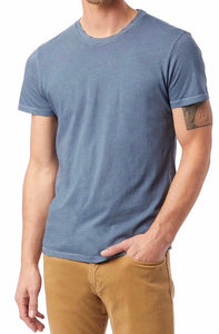 ALTERNATIVE APP - Men's Distressed Heritage Tee 04850 - Guys and Co.