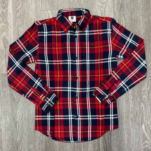 WES & WILLY - Boys Plaid Flannel Shirt - Guys and Co. (5856959791256)