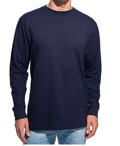 GUYS & CO. - Men's Long Sleeve Crew Neck T-shirt (6133067841688)