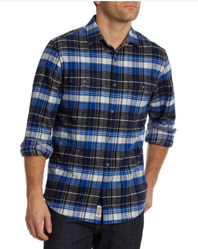 FLAG & ANTHEM - Lowellville Stretch Flannel Shirt (6124192071832)