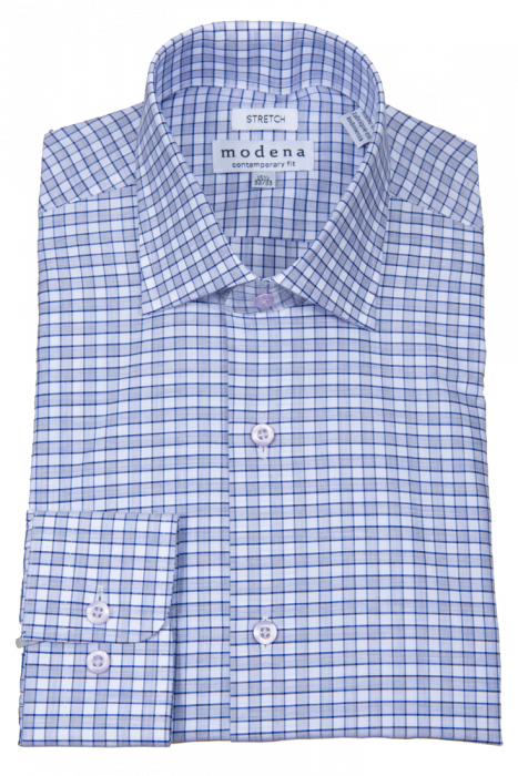 MODENA - Men's Dress Shirt Lavender M859 - Guys and Co.