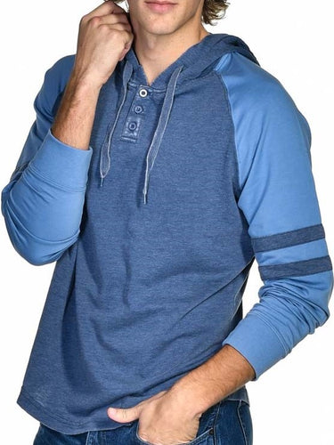GUYS & CO. - Two-Tone Raglan Hoodie - Guys and Co.