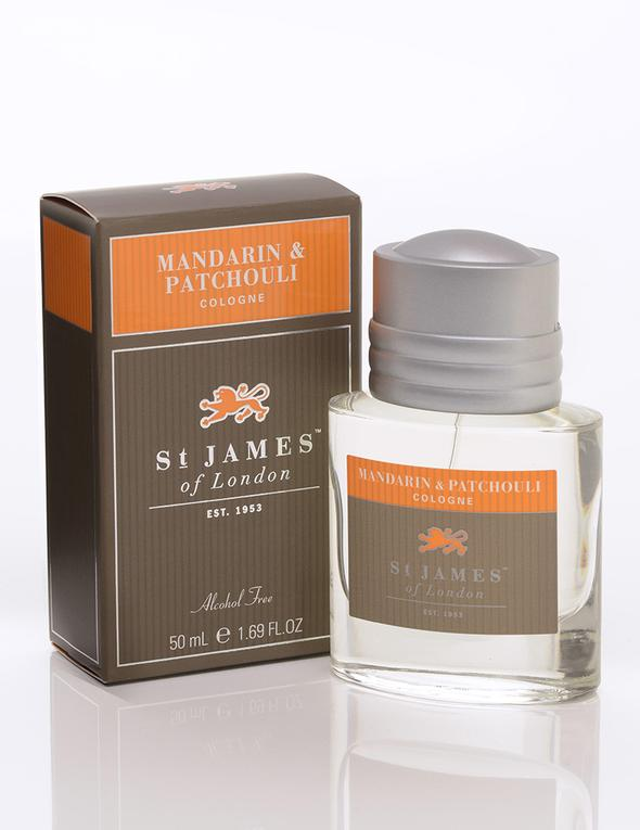 ST. JAMES OF LONDON - Mandarin & Patchouli Cologne - Guys and Co.