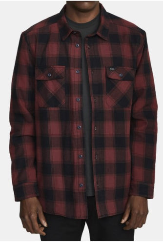 RVCA - Men's Replacement Flannel Button Down Shirt - Guys and Co. (5996399394968)