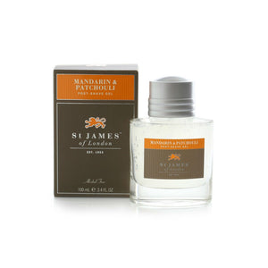 ST. JAMES OF LONDON - Mandarin & Patchouli Post Shave Gel - Guys and Co.