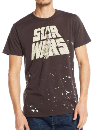 CHASER - Star Wars Luke & Leia Crewneck Tee - Guys and Co.