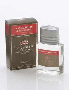ST. JAMES OF LONDON - Sandalwood & Bergamot Cologne - Guys and Co.