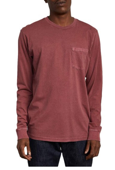 RVCA Men's PTC Pigment Long Sleeve T-shirt - Guys and Co.