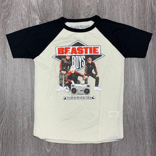 ROWDY SPROUT - Boy's Beastie Boys Short Sleeve Raglan Tee - BBRTSP20 - Guys and Co.