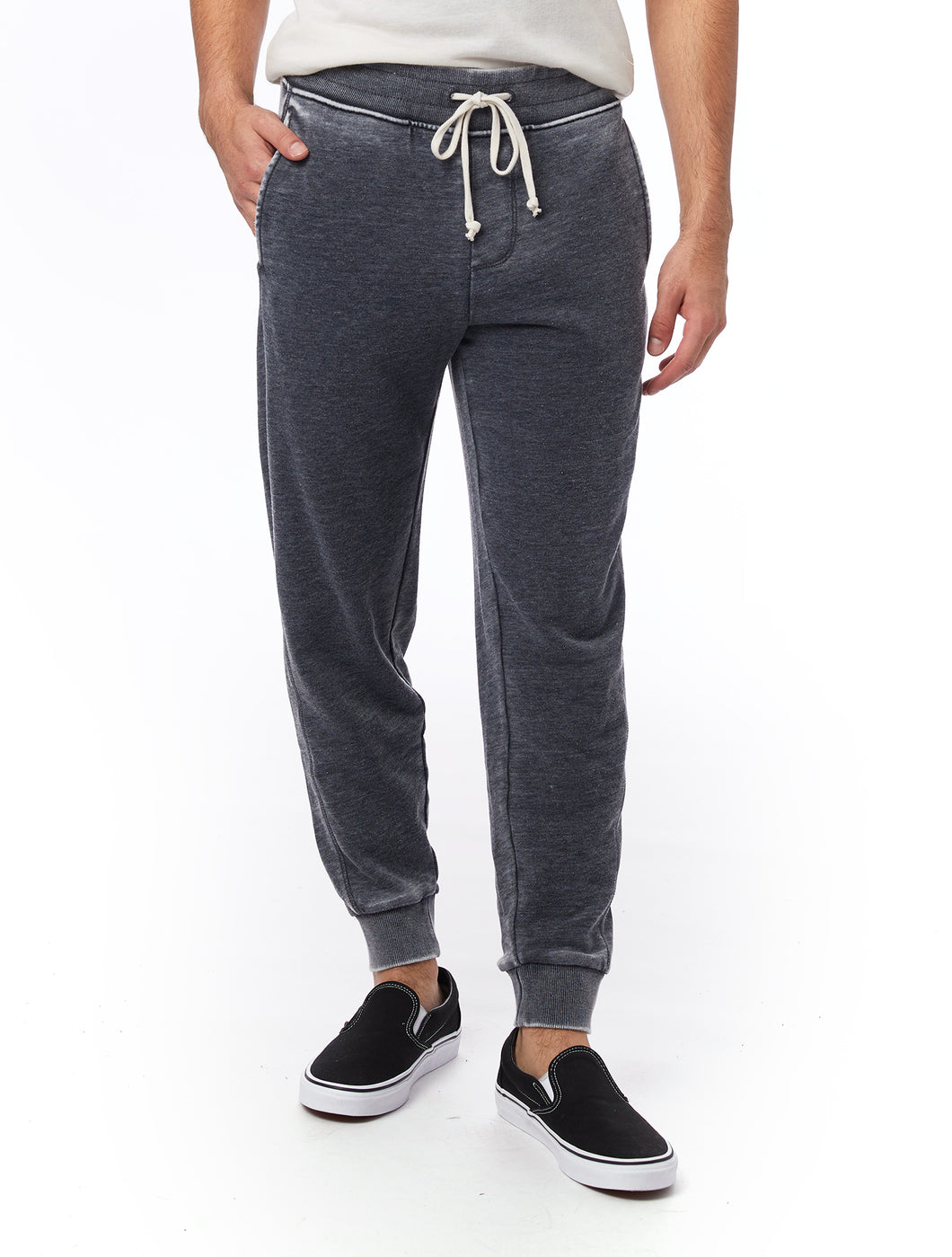 ALTERNATIVE APP - Campus Burnout French Terry Jogger Pants - Guys and Co.