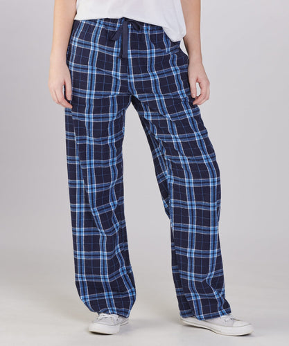 GUYS & CO - Boy's Navy/Columbia Flannel Plaid Pant (6034370166936)