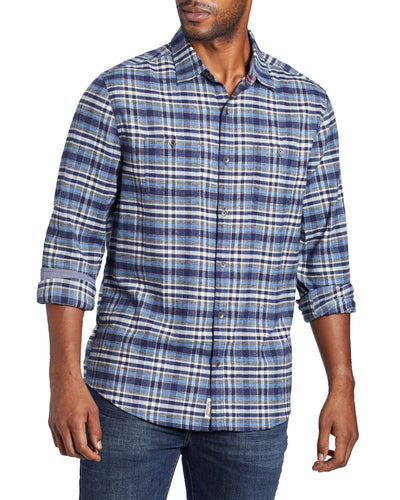 FLAG & ANTHEM - Burk Stretch Flannel Shirt (6124192039064)