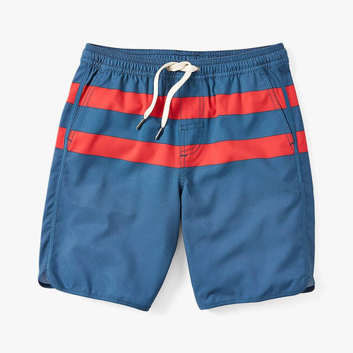 Boys Anchor Short-red Stripe (6554511835288)