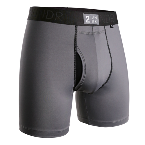 2UNDR - Power Shift Boxer Brief: Cool Grey - Guys and Co.