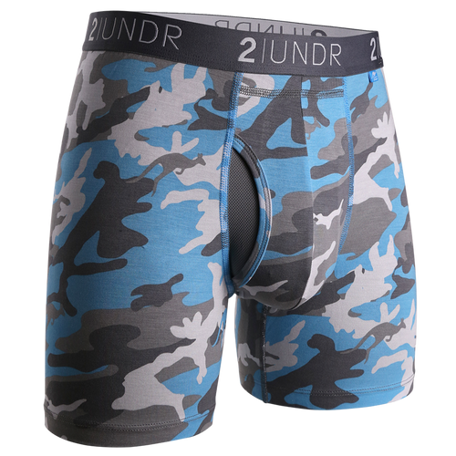 2UNDR - Swing Shift Boxer Brief: Ice Camo - Guys and Co.
