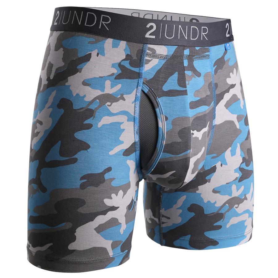 2UNDR - Swing Shift Boxer Brief: Ice Camo - Guys and Co. (4991809880204)
