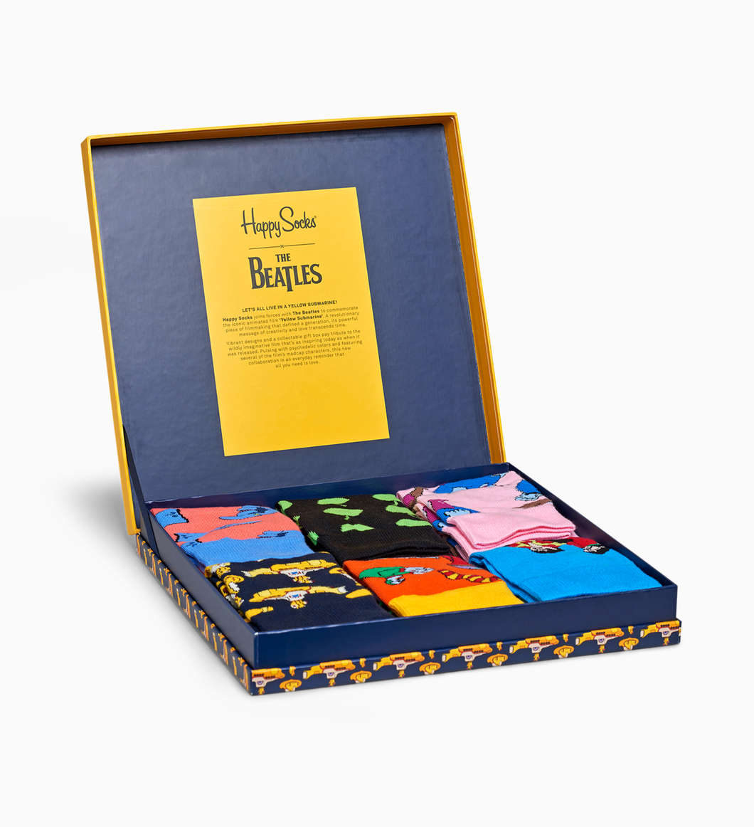 HAPPY SOCKS - Beatles Lp Collectors Box Set - Guys and Co. (5248410976408)