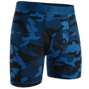 2UNDR - Swing Shift Boxer Brief: Night Camo - Guys and Co.