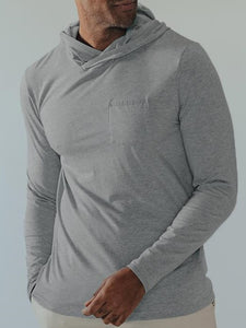 THE NORMAL BRAND - Active Puremeso Pocket Hoodie - Guys and Co.