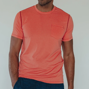 THE NORMAL BRAND - Performance Pocket Tee S1FPERPT - Guys and Co.