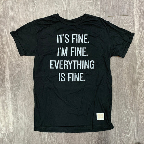 THE ORIGINAL RETRO BRAND -  Men's It's Fine T-shirt - Guys and Co.
