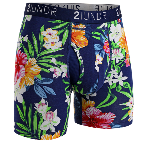 2UNDR - Swing Shift Boxer Brief: Tahiti - Guys and Co.