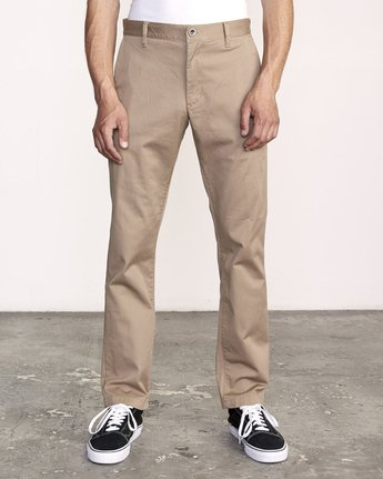 RVCA - Men's Weekend Stretch Straight Fit Pant - Guys and Co.