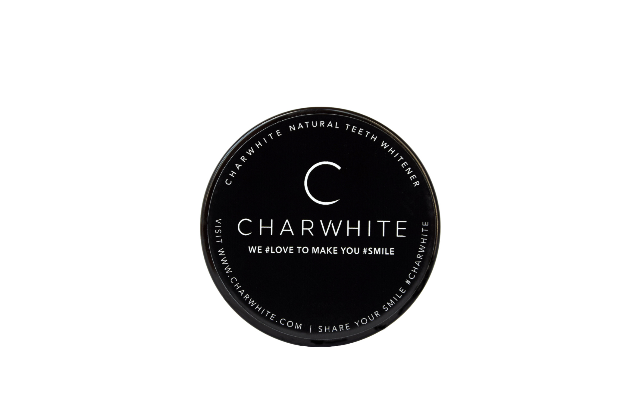 CHARWHITE Natural Teeth Whitener - WE LOVE TO MAKE YOU SMILE.