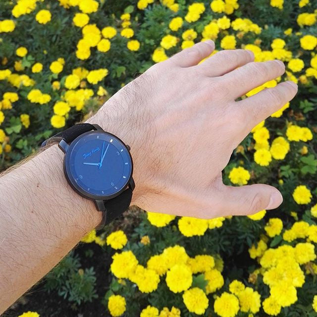 Jimmy Hardy Watch Powerful Black & Blue