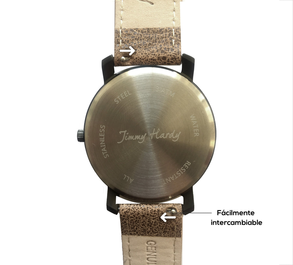 Jimmy Hardy Watch Exuberant Black & Brown
