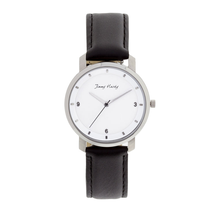 Jimmy Hardy Watch Stylish White & Black Reloj