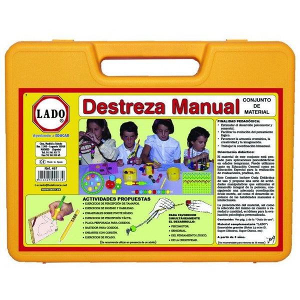 Maleta de destreza manual - Lado