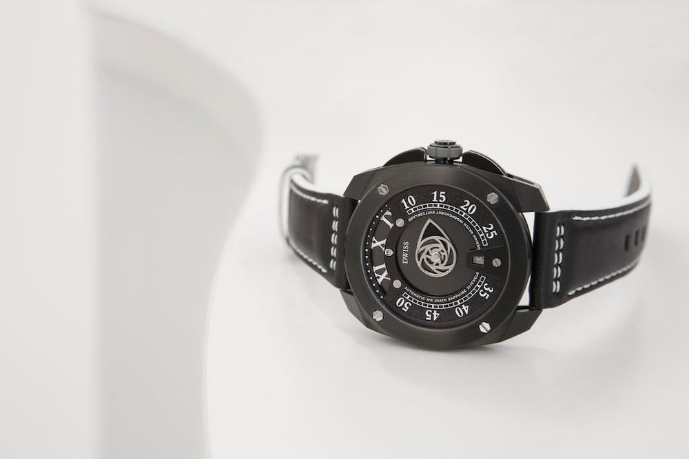RC1-BB - Design Awarded mysterious time display systems from the microbrand DWISS an automatic swiss luxury watch