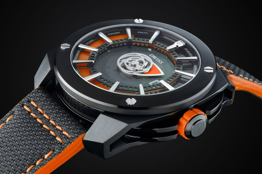 DWISS design awarded Swiss made timepiece