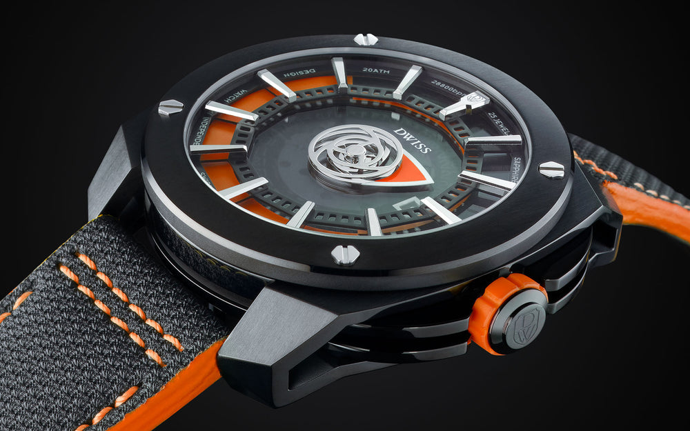 RS1-BO - Innovative time display systems from the microbrand DWISS an automatic swiss luxury watch