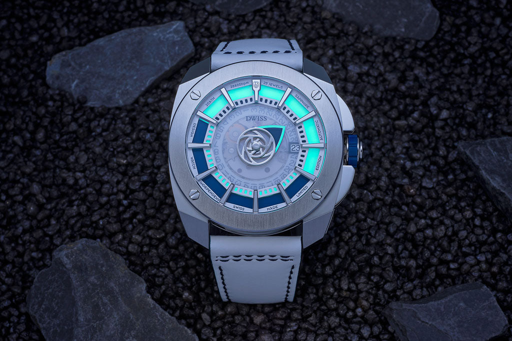 DWISS RS1-SL swiss made watch with luminous
