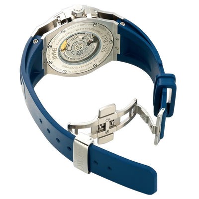 DWISS M1 Blue - Limited Edition, Design Awarded Luxury Swiss Made Watches With Innovative Time Reading Systems
