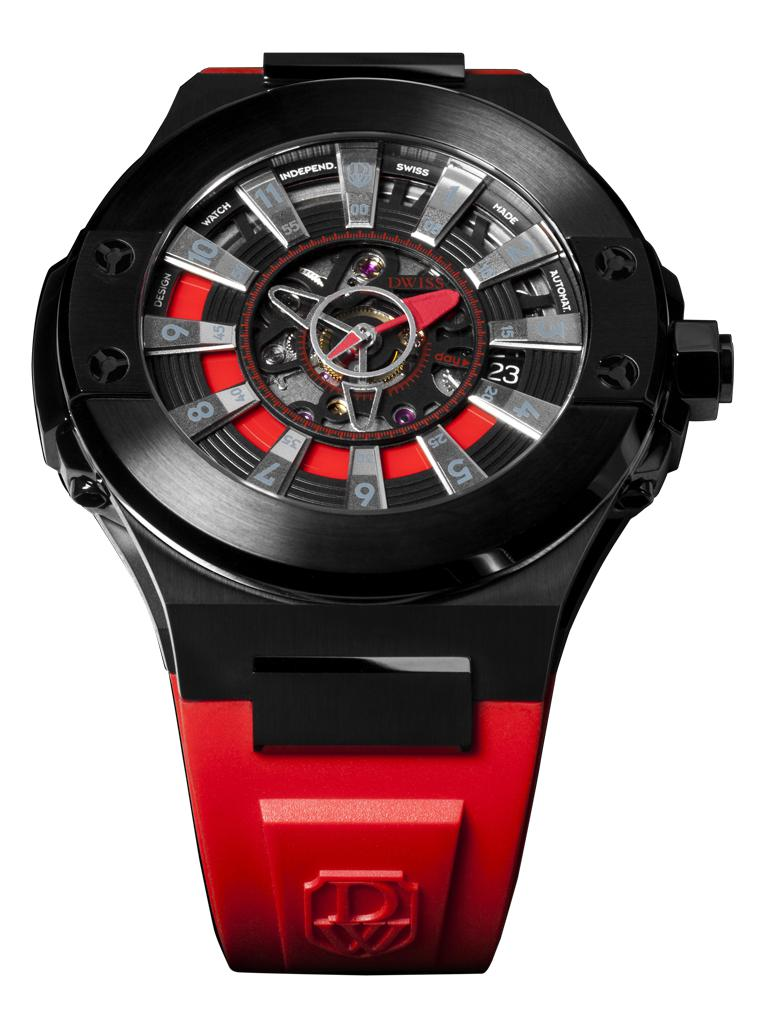 DWISS M2-ABR - Limited Edition, Design Awarded Luxury Swiss Made Watches With Innovative Time Reading Systems