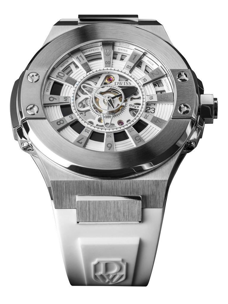 DWISS M2-SSW - Limited Edition, Design Awarded Luxury Swiss Made Watches With Innovative Time Reading Systems