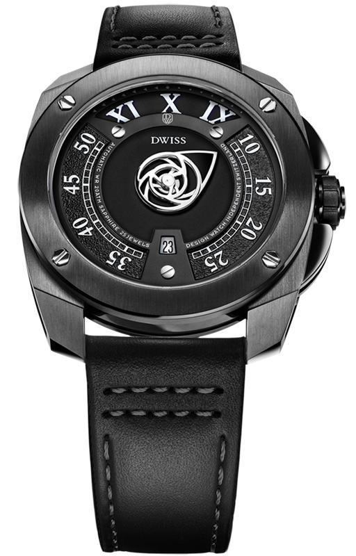DWISS RC1-BB-Automatic - Limited Edition, Design Awarded Luxury Swiss Made Microbrand Watch