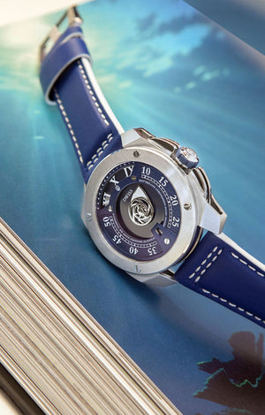 DWISS RC1-SL Automatic Limited Edition and design awarded Luxury Swiss Made Watches With Innovative Time Reading Systems