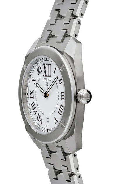 DWISS RC1-SW-Quartz w/ bracelet - Limited Edition, Luxury Swiss Made Watches