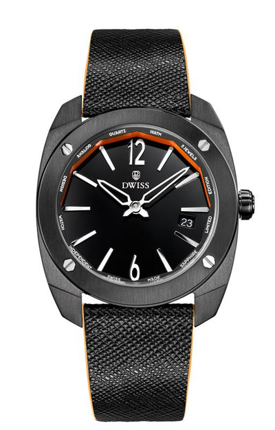 DWISS RS1-BB-Quartz - Limited Edition, Luxury Swiss Made Watches