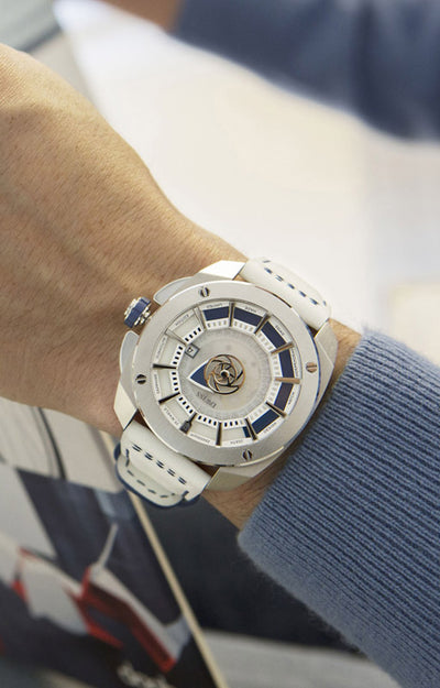 DWISS RS1-SL-Automatic - Limited Edition, Design Awarded Luxury Swiss Made Watches With Innovative Time Reading Systems