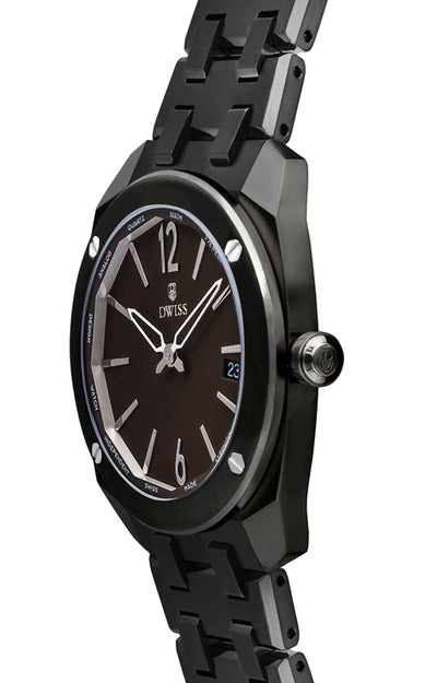 DWISS RS1-BR-Quartz with Bracelet - Limited Edition, Luxury Swiss Made Watches