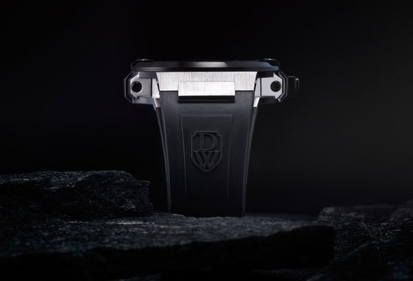 Silver Black - DWISS italian design and swiss manufacture a young contemporary watch designer brand  - 7