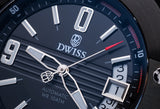Silver Black - DWISS italian design and swiss manufacture a young contemporary watch designer brand  - 9