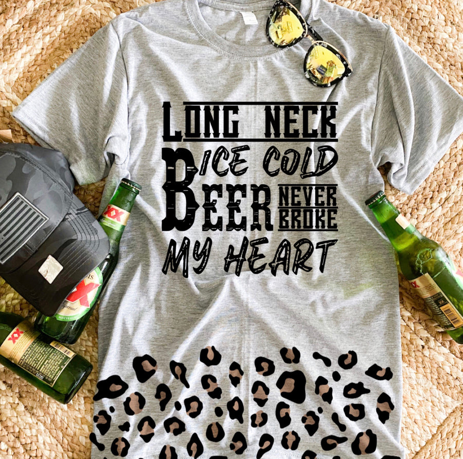 Beer Never Broke My Heart Tee