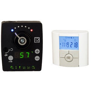 "LK 120 Smart Comfort Indoor Temperature Mixing Valve Controller 1"" Sweat Valve Kit - Tarm Biomass - 1"